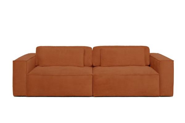 Roma | 3 personers sofa, - Alfa fløjl