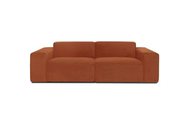 Manhattan | 3-personers sofa (Alfa fløjl)