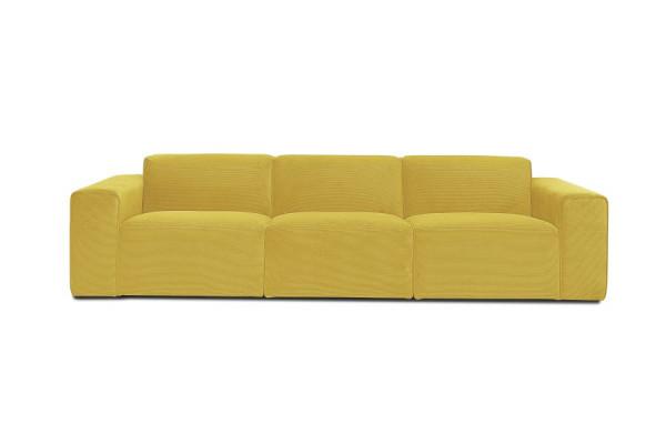 Manhattan | 3-personers sofa, Alfa fløjl