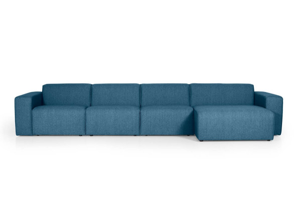 Manhattan | 4-personers med chaiselong (Polyester)