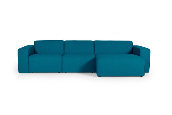 Manhattan | 3-personers med chaiselong (Polyester)