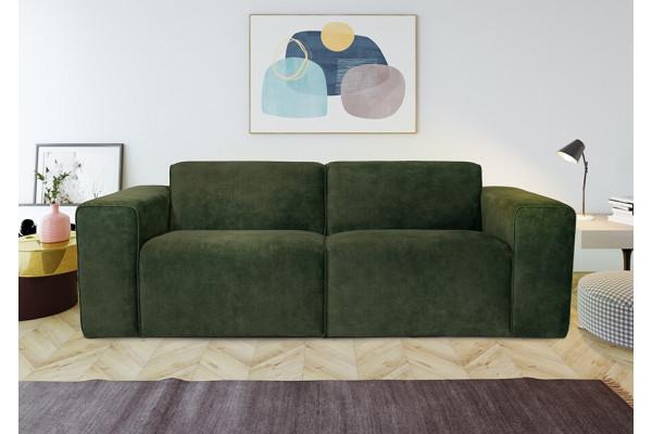 Manhattan | 2-personers sofa (velour)