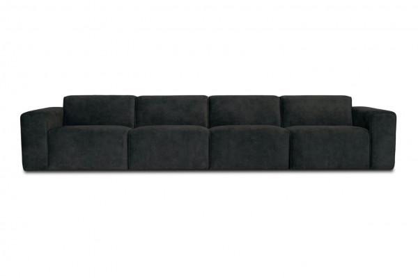 Manhattan | 4-personers sofa (velour)