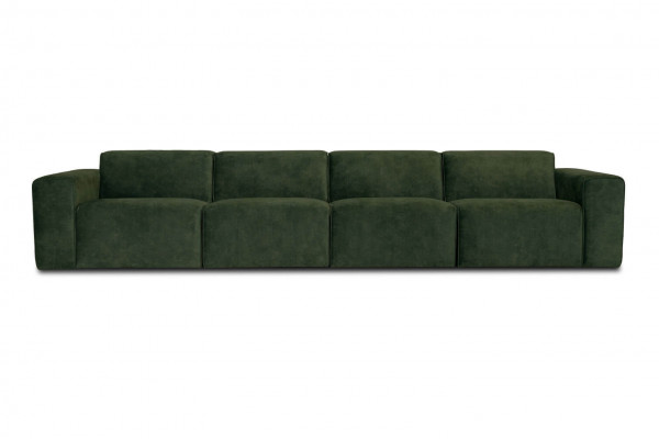 Manhattan | 4-personers sofa (velour)
