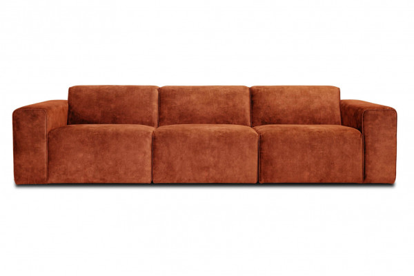 Manhattan | 3-personers sofa (Velour)