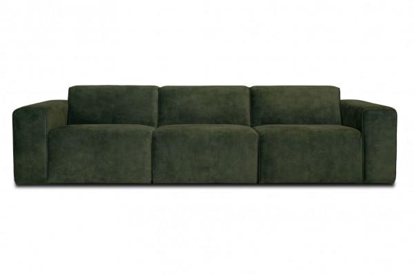 Manhattan | 3-personers sofa (Velour)