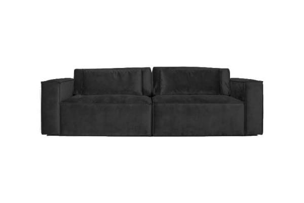Roma | 3 personers sofa - Antracitgrå