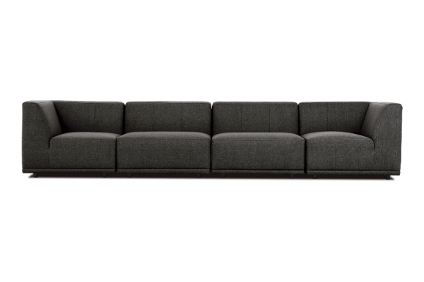 New York | 4-personers modulsofa (Polyester)