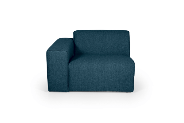 Manhattan | Modul med arm - 1 seater (Polyester)
