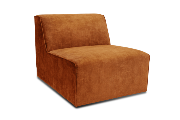 Manhattan | Midtermodul - 1 seater (velour)