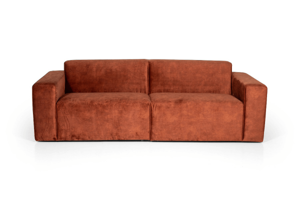 Manhattan | 3-personers sofa (2 moduler) (velour)