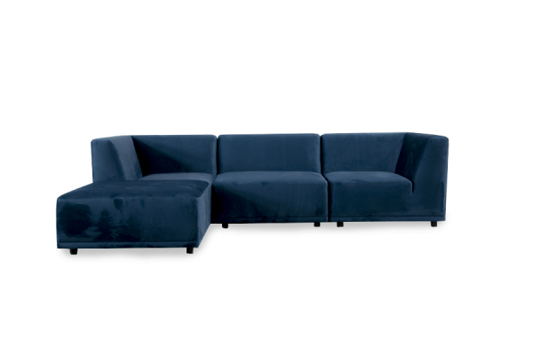 New York | Chaiselongsofa (velour)